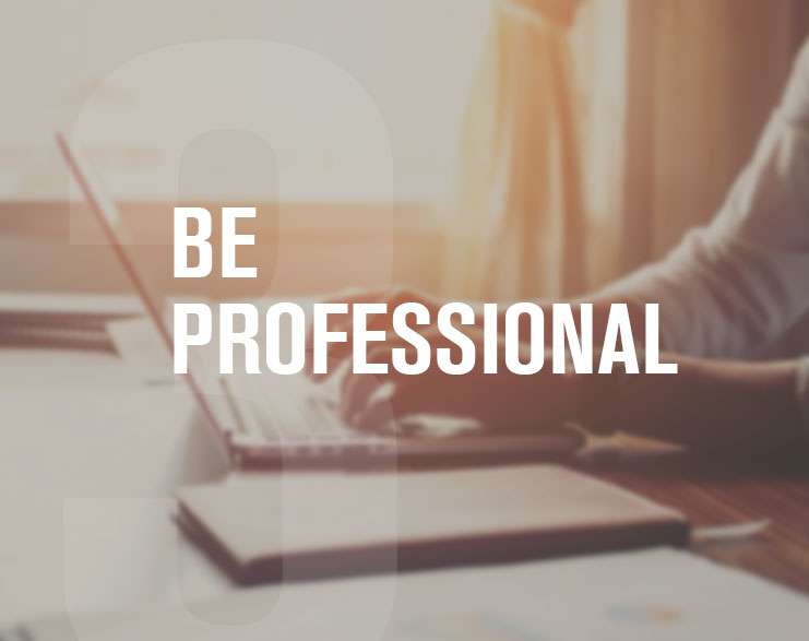 3-Be-Professional