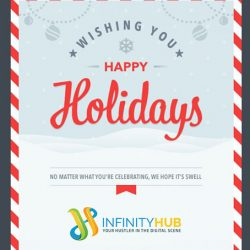 Christmas Email Greetings from Infinity Hub